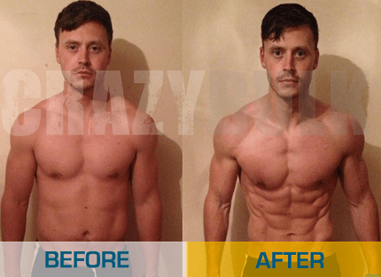 Cutting Steroid Results