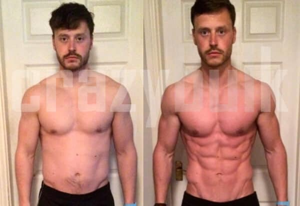Lean Muscle 8 Weeks with Cutting Stack legal