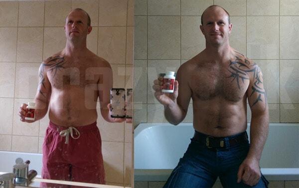 Before vs afrer dbol pictures men