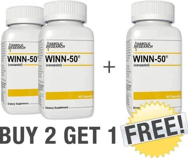 Get Winn 50 Tabs Lean Muscle Tone