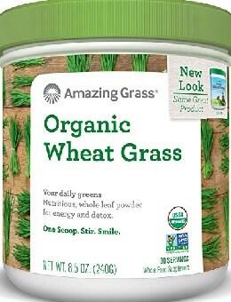 Amazing Grass Organic Wheat Grass Powder Amazon