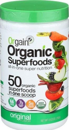 Orgain Organic Plant Based Protein Powder (Buy on AMAZON