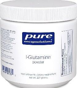 Pure Encapsulations L-Glutamine Porder (Order On AMAZON)