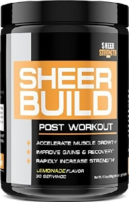 Sheer Strength on Amazon Post Workout Supplement