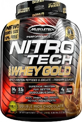 MuscleTech Nitro-Tech Whey Gold Review