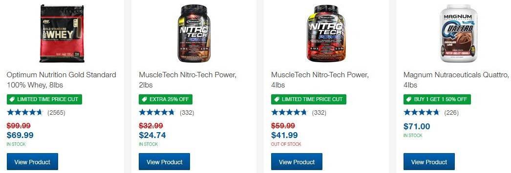 Whey Protein Powder Brands