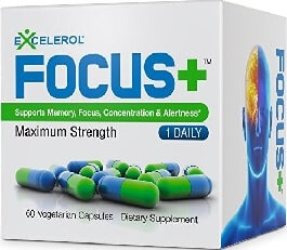 AMAZON - Excelerol (Focus Plus Brain Supplement)