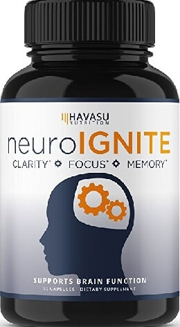 AMAZON - Havasu Nutrition (Clarity, Focus, Memory)