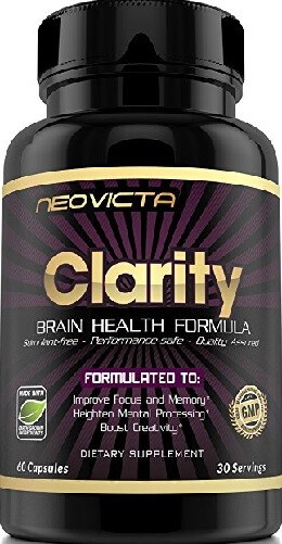 Neovicta: Clarity Brain Health Formula (Order on Amazon