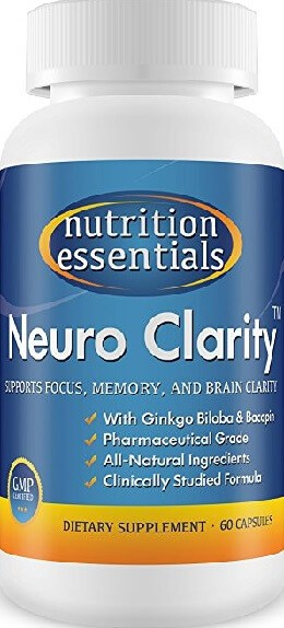 Nutrition Essentials Neuro Clarity (Order on Amazon)