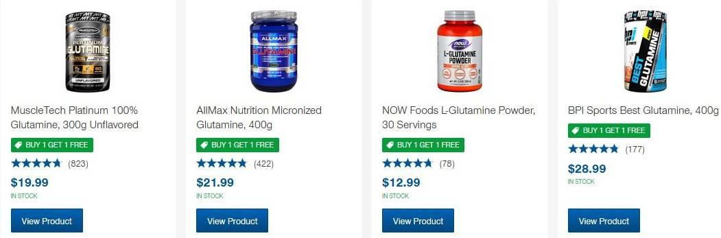 Best Glutamine Supplements Reviews