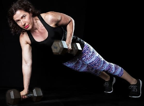 Strong Back Exercises Dumbell Row