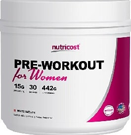 AMAZON - (Nutricost) - Pre-Workout for Women