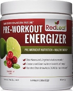 AMAZON - (Red Leaf) - Pre-Workout Energizer