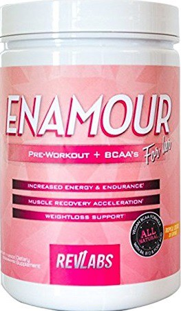 RevLabs ENAMOUR Womens Pre-workout For Her