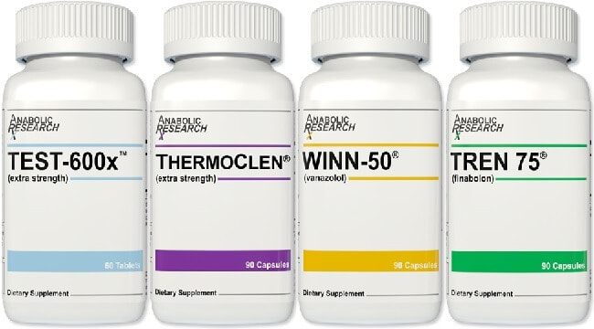 Anabolics Cutting Stack