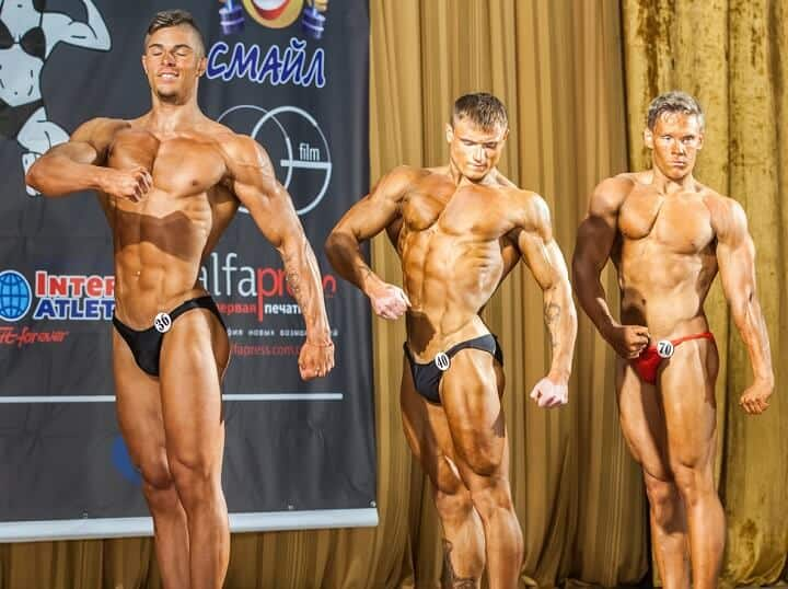 Male Body Building Contest