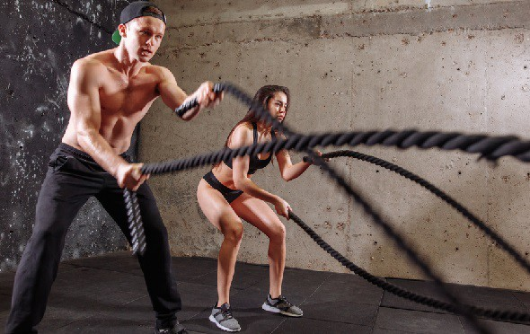 Crossfit workouts Couple