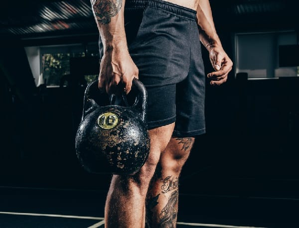 Kettlebell Leg Workout