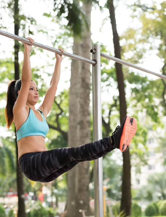 Workout - Hanging Straight Leg Raise